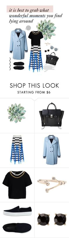 """Untitled #144"" by freshlydressed ❤ liked on Polyvore featuring 3.1 Phillip Lim, Thakoon, Façonnable, Boutique Moschino, CÉLINE and Erdem"