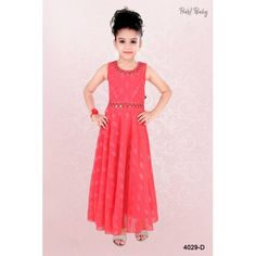 Frocks And Gowns, Frocks For Girls, Girls Dresses Online, Gowns Online, Kids Gown, Baby Shop Online, Baby Gown, Online Dress Shopping, Long Tops