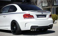 Karosserie-Styling: BMW 1er 182 (E82, E88) Heckschürze M-Look (Kerscher 1M Rear Replica)