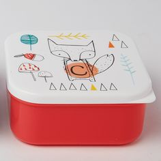 https://www.sassandbelle.co.uk/Alphabet Fox Square Lunch Box