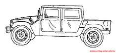 Autóss színező 076 Monster Trucks, Vehicles, Car, Vehicle, Tools