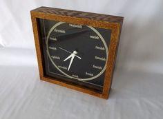 Rare Mid Century Bill Miller Design Wall Clock