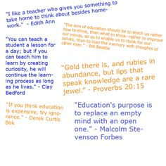 Teacher Sayings!