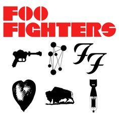 Foo Fighters Logo Via Foofighters Com Typography Foo
