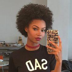 Hair goals almost there! Natural Hair Inspiration, Natural Hair Tips, Natural Hair Journey, Natural Curls, Natural Hair Styles, Afro Hairstyles, Hairstyle Braid, Big Hair, Gorgeous Hair