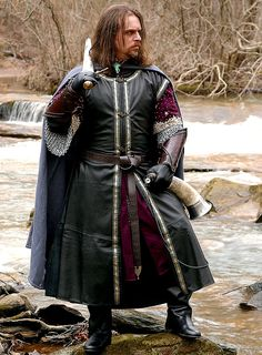 Medieval Leather Surcoat
