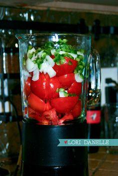 Homemade Salsa Recipe  |  Lori Danelle
