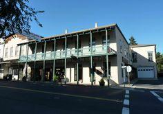 California Landmarks - Calaveras County - Angels Camp - Angels Hotel