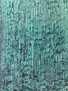 "Saatchi Art Artist Glen Stewart; Painting, ""Patina Study No. 4"" #art"
