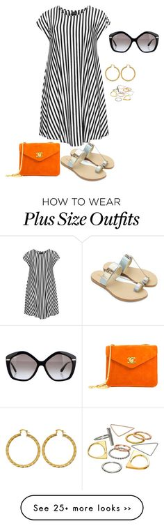 """plus size just dress it3/ simple summer diva"" by kristie-payne on Polyvore"