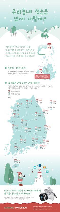 [Infographic] 첫눈에 관한 인포그래픽