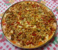Ângela Bastos: Pizza de Sobras de Arroz