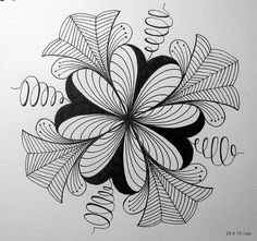 Drawings & Zentangles - an album on Flickr