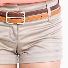 love the double belt