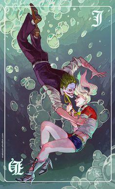 The Joker Harley Quinn Joker Batman DC DC comics Joker y Harley Batman Villains Joker Y Harley Quinn, Harley Quinn Drawing, Joker Dc, Harley Batman, Desenhos Halloween, Kings & Queens, Der Joker, Daddys Little Monster, Harely Quinn
