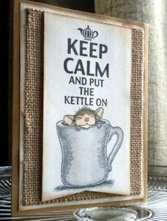 """""""Keep Calm..."""" by Debbi McCue on House-Mouse Designs®"""