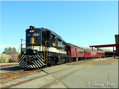 Preserved Southern GP30 #2601 leads an excursion along the North Carolina Transportation Museum property on March 19, 2011