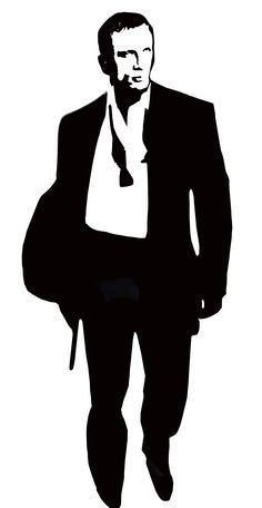 12 james bond silhouette images digital clipart images party rh pinterest com