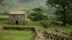 - what an interestingly named tiny house- Exterior frontage of Bird How, Eskdale, Cumbria © John Miller