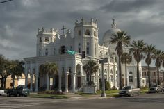 Sacred Heart Catholic Church, Broadway Ave, Galveston