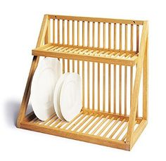 Woodform Wall-mount Plate Rack, see this Remodelista page for a larger option also-