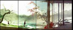 Môn phái: Vạn Hoa (loli) x Thuần Dương (nam) - Game: VLTK 3D - Artist: 伊吹五月 (Ibuki Satsuki) | Periacon Anso