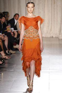 Marchesa Spring 2013 Ready-to-Wear Fashion Show - Yumi Lambert