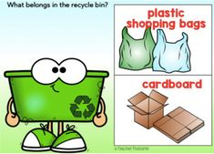 Earth Day Activities BOOM CARDS Digital RECYCLING SORT by Teacher Features Your Teacher, Best Teacher, Learning Sites, Earth Day Activities, Diy Deck, Recycling Bins, Literacy Centers, Deck Of Cards, Task Cards