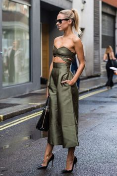 Street Style : Weve selected the most covetable London street style fresh from the SS16 shows