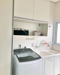 Laundry Room Design, Sweet Home, Home Appliances, Outdoor Laundry Rooms, Laundry Design, Painting Bedroom Walls, Laundry Room Small, Laundry Basket, House Siding
