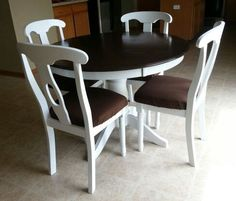 Refinished kitchen table -SOLD