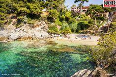 Auch das Festland Spaniens beeindruckt mit wunderschönen Buchten, die zum schwimmen, entspannen und genießen einladen! #bucherreisen #lastminute #spanien