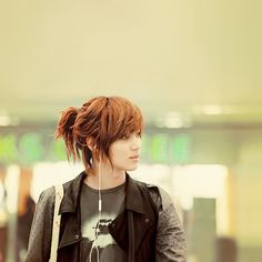 SHINee Taemin. Never to be forgotten no matter what he does thank you for the memories and that HAIR!