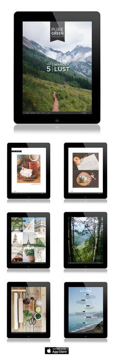 Introducing Volume 5, Wanderlust, for iPad!!
