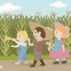 Video Stills Of The Nursery Rhyme Little Boy Blue, Come Blow Your Horn On YouTube All Songs, Kids Songs, Traditional Nursery Rhymes, Rhymes Video, Little Boy Blue, Boys Who, Horns, Pikachu, Singing
