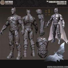 Batman Desert Storm Scala 1 1 Indossabile Cosplay Costume Armatura Bat Man | eBay