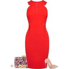 """Coast Gina dress"" by paolanoel on Polyvore"