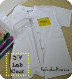 diy kids lab coat - Bing images