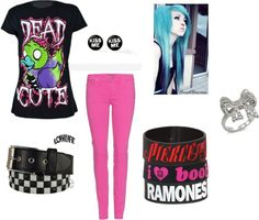 """emo girl"" by trustyourcats on Polyvore"