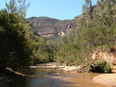 The Wolgan River at Newnes