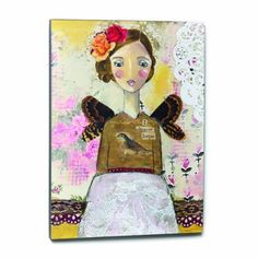 Kelly Rae Roberts I Choose Hope Wall Art, 18 by 24-Inch Kelly Rae Roberts http://www.amazon.co.uk/dp/B00BF0NWBS/ref=cm_sw_r_pi_dp_2vhvvb1JR61C2
