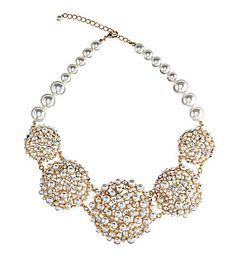 Anna & Ava Charlotte Pearl Statement Necklace | Dillards.com