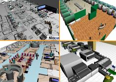 Lab Simulation for Floor Plan and Layout Design Modeling - Lab Simulation Software 3d Software, Sim, Layout Design, Health Care, Floor Plans, Flooring, Models, How To Plan, Templates