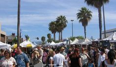 Fiesta Hermosa   Hermosa Beach, CA  An arts and crafts fair along the ocean with 270 booths, kid's carnival and more!    #memorialdayplans  #beach