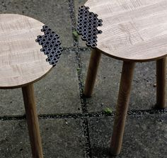 Behold the Nuts Stool by Sweden-based designer Eunjae Lee.