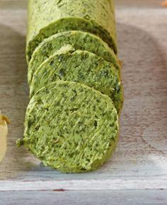 Basilikum-Zitronen-Butter