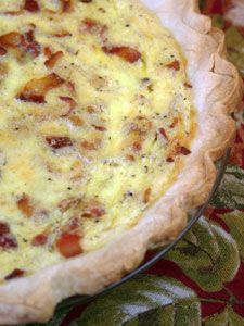 Mushroom, Asparagus and Tomato Quiche with a Potato Crust | Breakfast ...