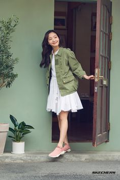 Kim go eun skechers korea Female Actresses, Korean Actresses, Korean Actors, Kim Go Eun Goblin, Kim Go Eun Style, Korean Celebrities, Celebs, Kdrama Actors, Hey Girl