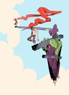 Matias Basla : Photo Art And Illustration, Illustrations And Posters, Comic Kunst, Comic Art, Fantasy Kunst, Fantasy Art, Arte Indie, Inspiration Artistique, Sketch Design