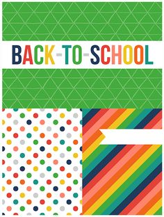 Freebie on the Fifth – Back To School